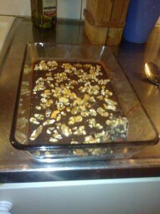 Chilichoklad med valnötter